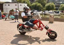 Scooter enthusiasts take over Brayford Waterfront