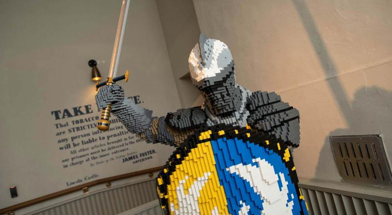 Sneak Preview Lego Dragons Knights And Princesses Invade Lincoln