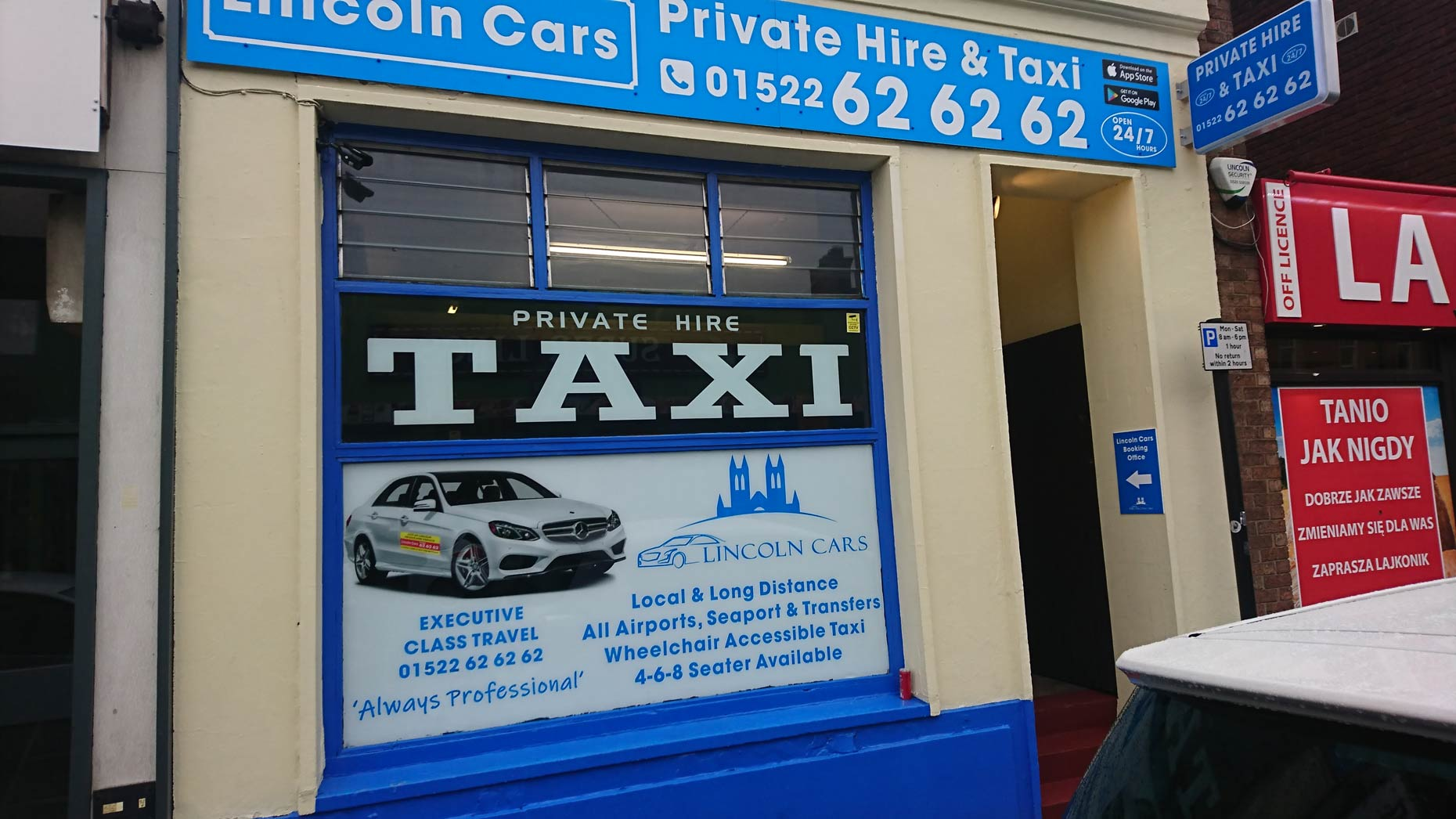 Today Only New Lincoln Taxi Firm Offers 99p Journeys