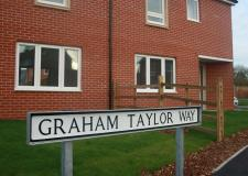 New road named after Lincoln football legend Graham Taylor