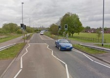 Half term Tritton Road works to create speed watch bay
