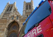 This is why you'll see smoke at Lincoln Cathedral this week