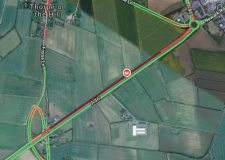 Traffic delays after A46 Lincoln crash