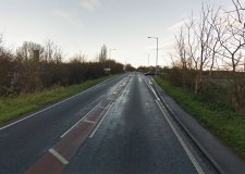 Four teens seriously injured in crash near RAF Scampton