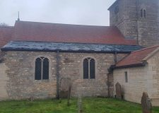Lead thieves force church to give up original roof