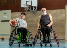 Age is no boundary for local wheelchair basketball club