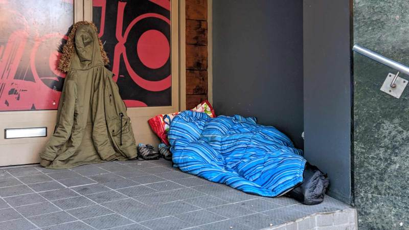 Lincoln Fourth Highest For Rough Sleepers In Region