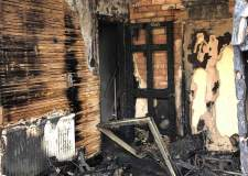 Lincoln family devastated as fire rips through home, destroying everything