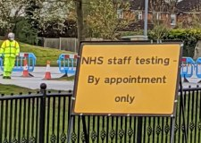 For NHS staff only: People told not to go to Lincoln coronavirus test centre