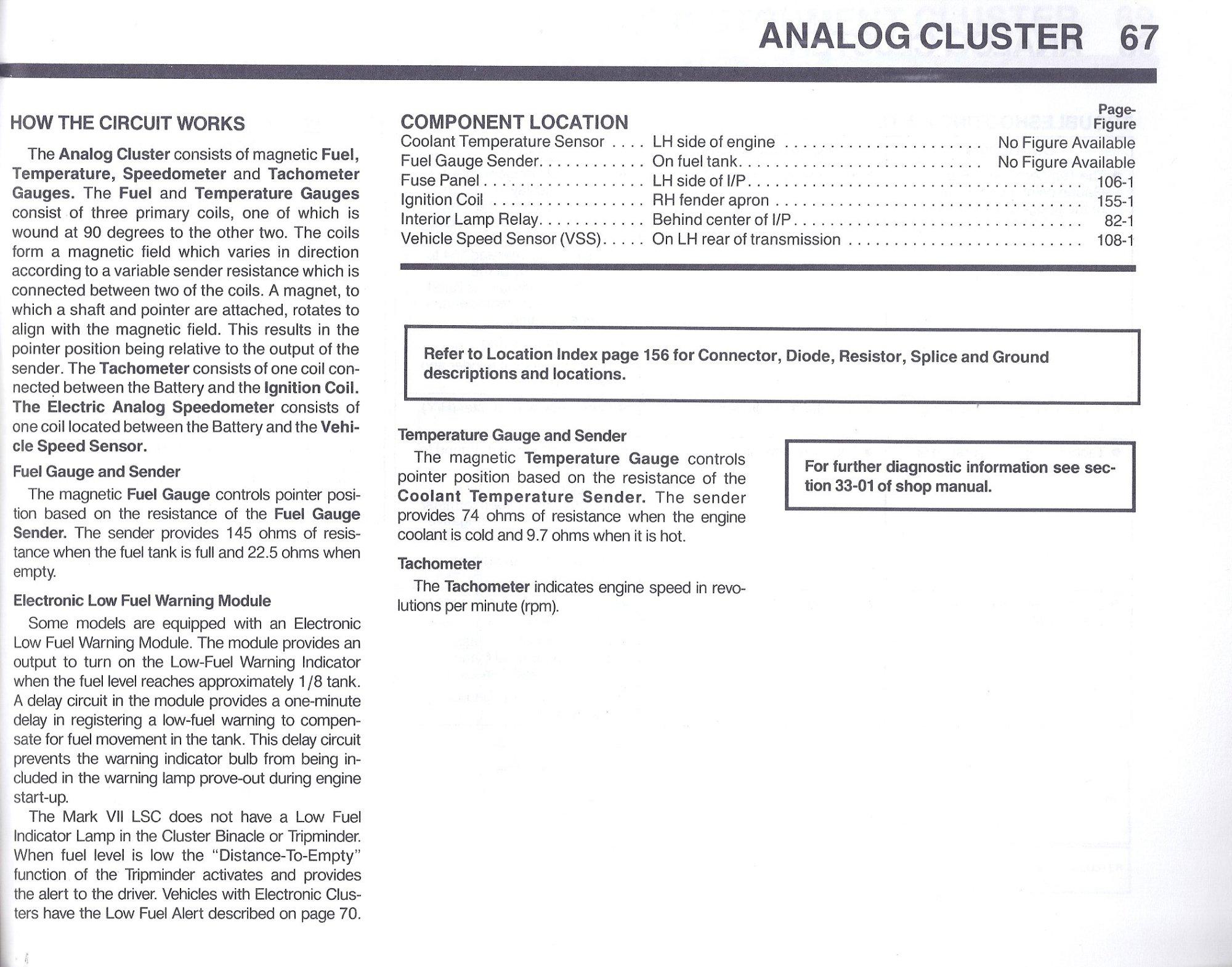 hight resolution of 1996 lincoln mark viii fuse box diagram