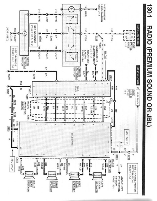96 Lincoln Radio Wiring Diagram, 96, Free Engine Image For