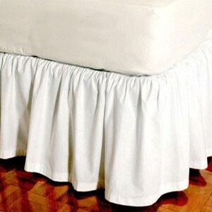 bedskirts pillow shams