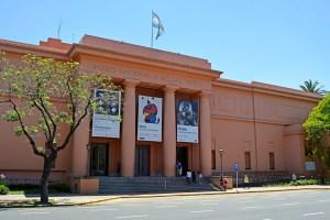 Museo Nacional de Bellas Artes building in Buenos Aires, Argentina.
