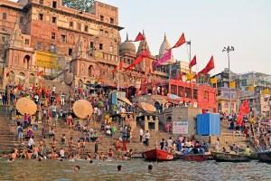 Dashashwamedh Ghat, Varanasi, Uttar Pradesh, India.