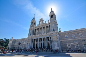 Almudena Cathedral, Madrid, Spain.