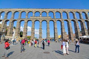 Aqueduct de Segovia, Spain.