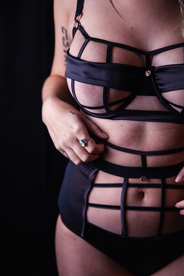thelingerieprincess scantilly by curvy kate censored lingerie 30ff and high waist brief in small