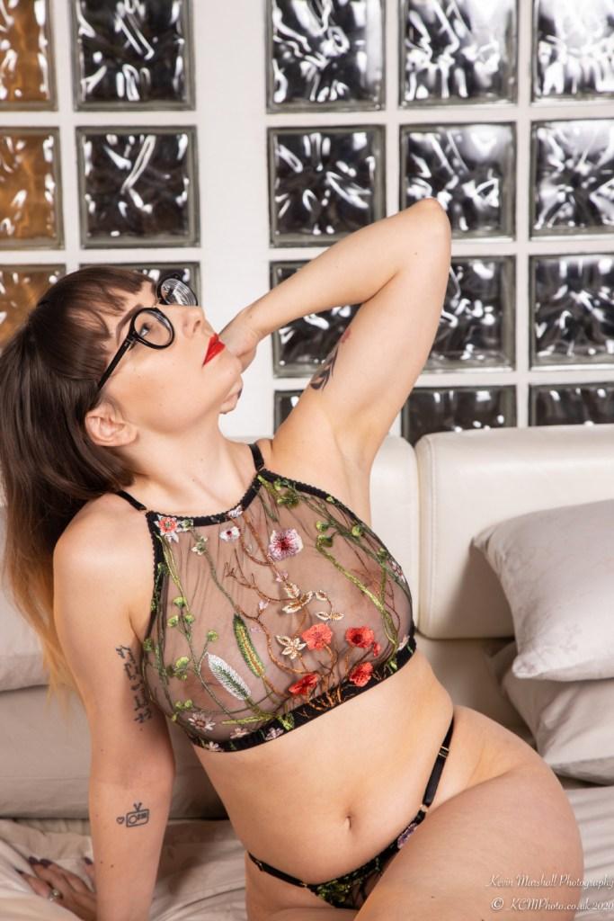 miss vivienne high neck bralette bespoke luxury lingerie handmade for fuller busts