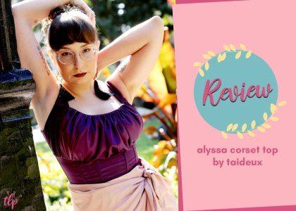 taideux alyssa corset top review