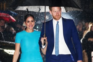 Meghan, Duchess of Sussex, and Prince Harry, Duke of Sussex, in London on March 5.Chris Jackson / Getty Images file
