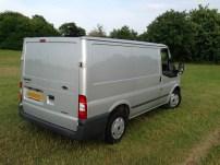 Old van rear