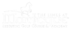 Dartmouth golfcourse links at montague logo with belgian horse