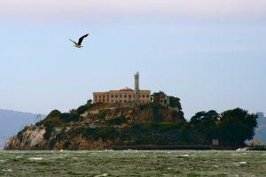 Historic photo of Birdman of Alcatraz's escape.