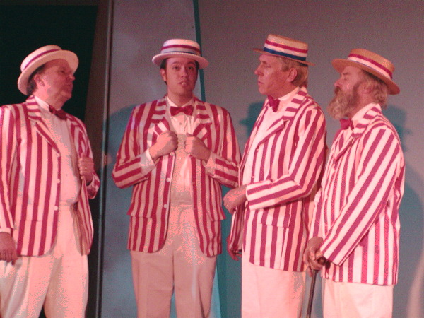 traditional barbershop quartet