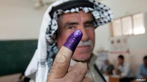 Afghans sick and tired of purple ink dipping.