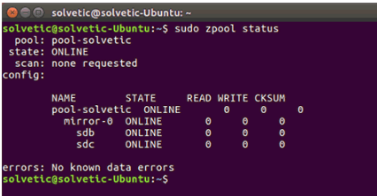 How To Install & Configure ZFS File-System in Ubuntu