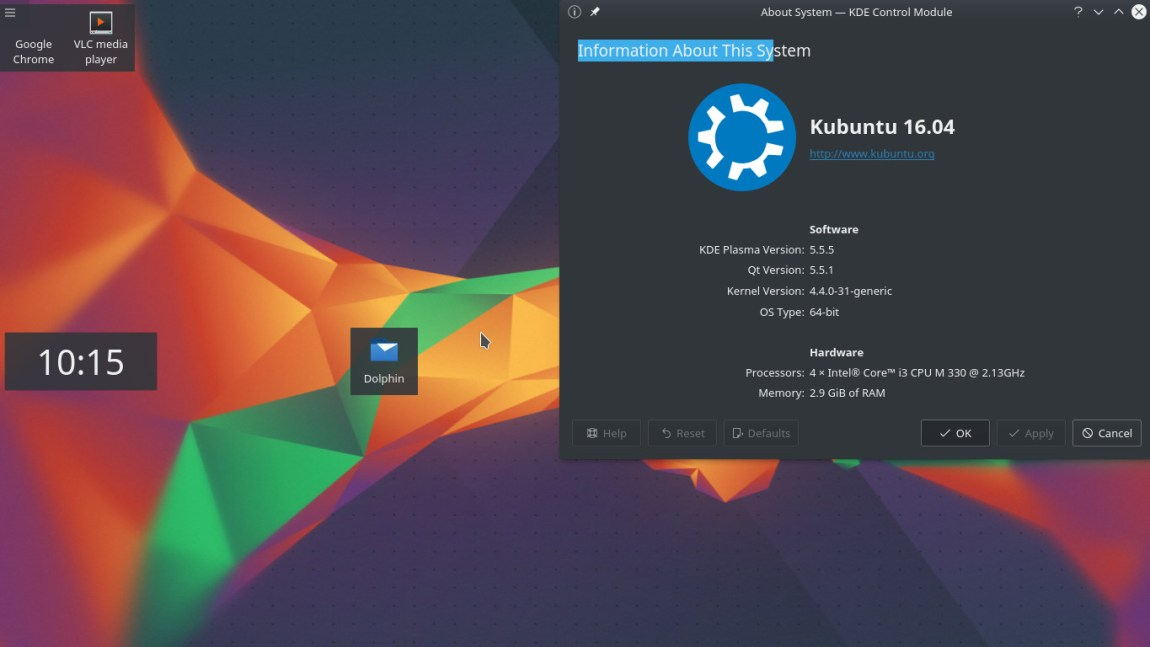 kubuntu best free operating system for laptops