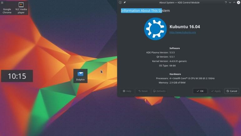 kubuntu best free operating system for laptops