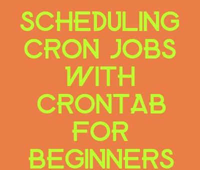 scheduling cron