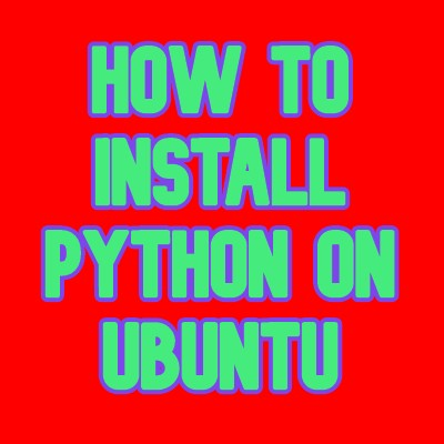 install python on Ubuntu