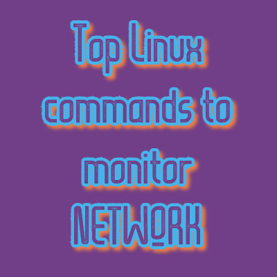 Linux commands to monitor network