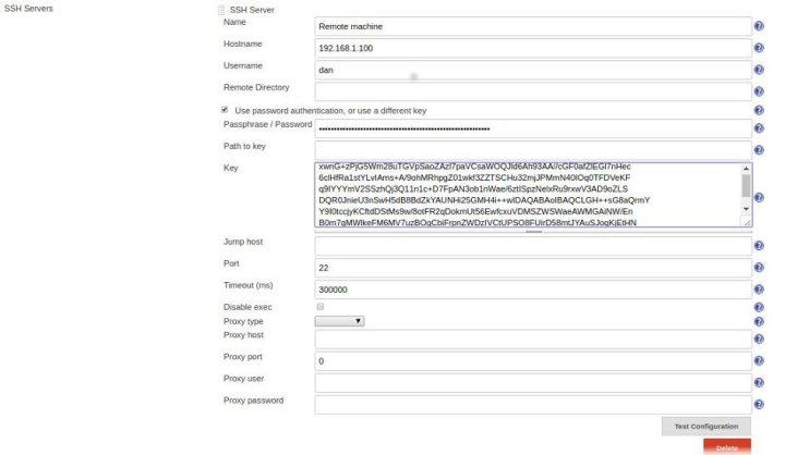 add ssh credentials in jenkins