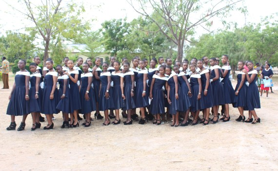 Girls at Graduation