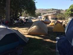 Hike & Bike Camp at Refugio State Beach