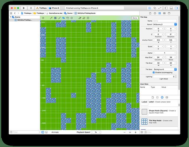 SpriteKit Tile Maps Intro | The Liquid Fire