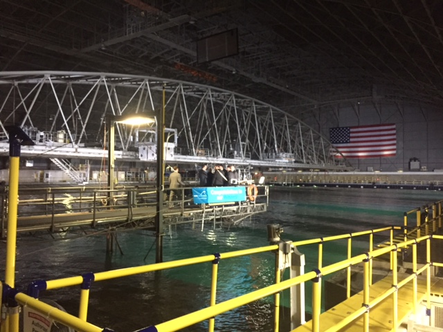 Wave Energy Prize testing facility at Carderock