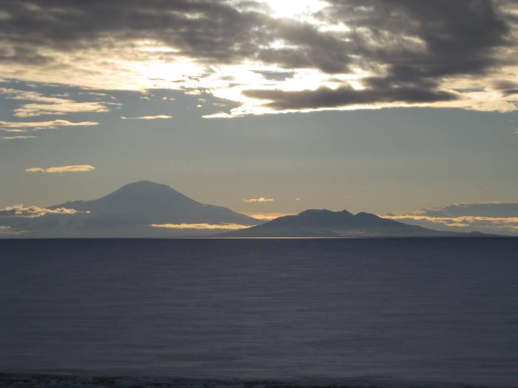 Antarctica Mountains