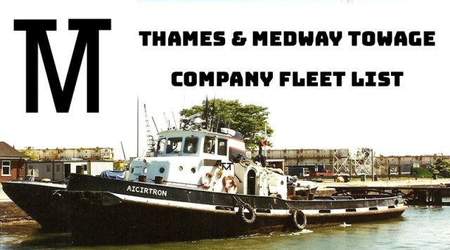 Thames & Medway Towage fleet
