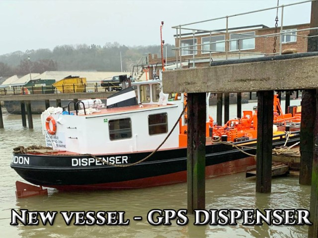New vessel – GPS Dispenser
