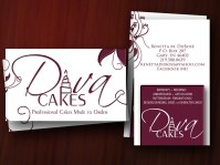 Cake Decorator Business Cards