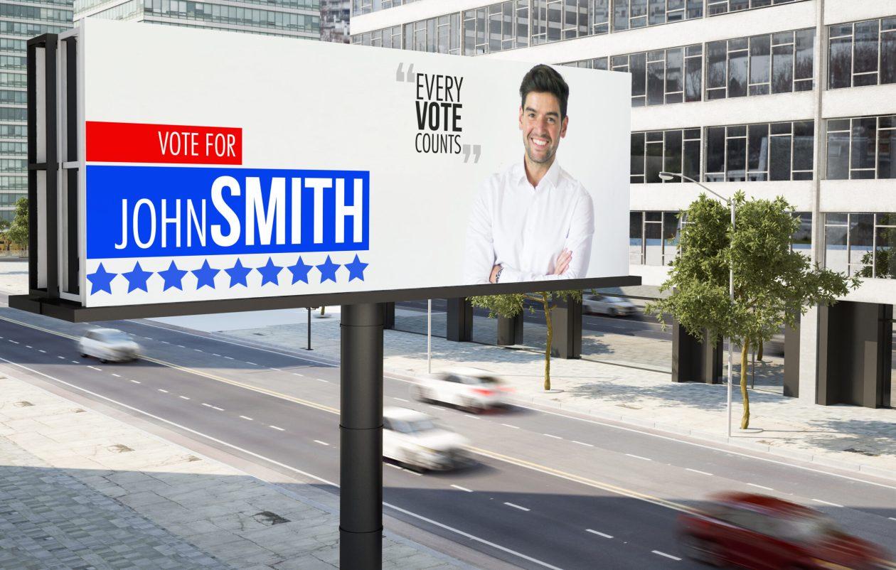 city political advertising