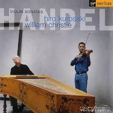 Hiro Kurosaki's recording of Handel Sonatas