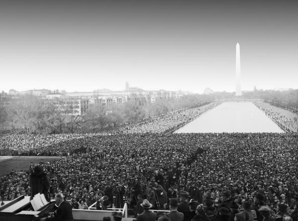 Marian Anderson Lincoln Memorial