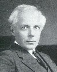 Hungarian composer Béla Bartók (1881-1945)