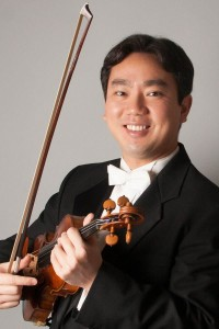 violinist Frank Huang