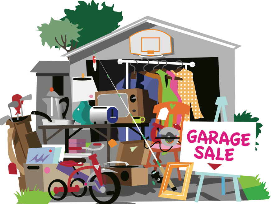 Garage sale promotion